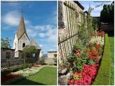 Kleiner Garten auf Burg Hochosterwitz #kärnten #austria #burg #hochosterwitz #garten #blumen #flowers