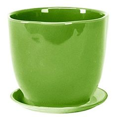 Deroma 5700380CF 709 in Large Caspo Planter With Saucer Green Pack Of 6 RMG4H4E54 E4R46T32592417 ** Want to know more, click on the image.