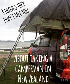 《Some important considerations. Got to be at campgrounds early.》Get your ducks in a row before hopping in a campervan in New Zealand! It is an awesome way to see the country but know these 3 things before you go! New Zealand Campervan, Van Life Blog, Rent A Campervan, Campervan Ideas, Pilot Wife, New Zealand Adventure, New Zealand Travel Guide, Nova, Airplane Travel