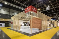 Tejas Borja Stand at Cevisama 2017, Valencia – Spain » Retail Design Blog