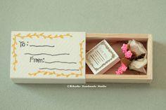 I Love You Miniatures matchbox cardValentine's GiftFunny