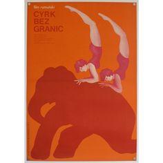 Cyrk Bez Granic, original Polish film poster