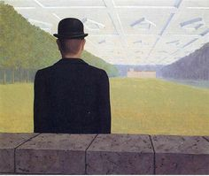 Rene Magritte (Belgian, 1898-1967) - The Great Century, 1954