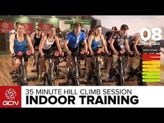 ▶ 35 Minute Cycle Training Workout - Hill Training - YouTube