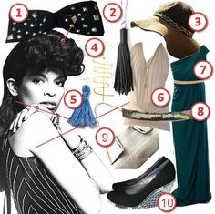 DIY the Look: Bianca Jagger