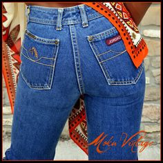 80's Vintage Jordache Jeans - loved those back in the day!
