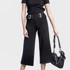 Classic black #mmchic #chic #pants www.mmchic-th.com LINE ID: @mmchic