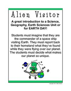 A FREE and fun critical thinking activity for students of all ages!  Perfect for Earth Day!