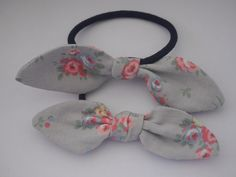 A personal favourite from my Etsy shop https://www.etsy.com/uk/listing/270470446/cath-kidston-fabric-bow-tie-ponytail