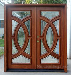 Country Style Front Door  in a Red Mahogany Stain Color  Bought   Front Door  Fancy Decorative entry door  frontdoor  entrancedoor   creativedoor. Decorative Front Doors. Home Design Ideas