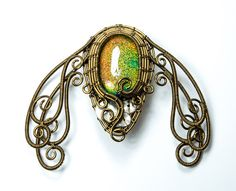 Ooak Steampunk Jewelry  Vintage Bronze by VictorianClockworks, $185.00