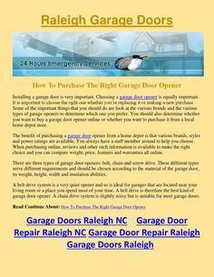 Garage Door Opener Cost Easy Garage Door Repair For Overhead Intended For Overhead  Garage Door Repair Tips For Overhead Garage Door Repair | Pinterest ...