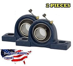 VXB UCP204-12 Pillow Block Mounted Bearing, 2 Bolt, 3/4″ Inside Diameter, Set screw Lock, Cast Iron, Inch – Get affordable prices for car supplies Steel Cage, Thing 1, Pulley, It Cast, Cast Iron, 1 Piece, Brand New, Bear, Pillows