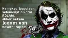 Joker Quotes, Trust Me, Psychology, Graffiti, How Are You Feeling, Lol, Feelings, Funny, Fictional Characters
