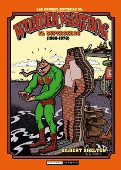 O talento de Gilbert Shelton comezou a despuntar ben cedo, coa aparición por primeira vez en 1959 de Superserdo (Wonder Wart-Hog) nunha revista universitaria. A súa devastadora parodia da figura do superheroe converteríase co tempo nun clásico que a día de hoxe segue reeditándose en todo o mundo, só superado polos fabulosos Freak Brothers (The Fabulous Furry Freak Brothers) e o seu gato Freddy, publicados por primeira vez en 1969 e consolidados como un dos baluartes do underground norteamericano