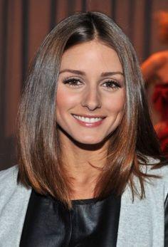 Olivia Palermo shoulder length cut