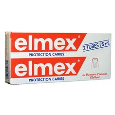 Elmex Dentifrice Protection Caries Duo 75ml - Pharmacie Lafayette - Dentifrices