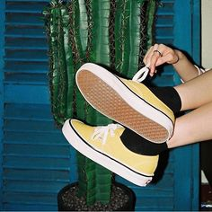 Feeling sunny in these bright Authentics. Show us how you wear your Classics with #MyVans ☀️   via @vans_korea