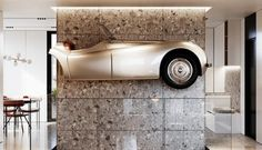 Extraordinary apartment - Dezign Ark (Beta) Old Classic Cars, First Apartment, Made Of Wood, Design Development, Scandinavian Style, Ark, Outdoor Decor, Modern, Interiors