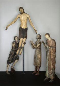 La Descente de croix (incomplet) - Milieu du 13e siècle