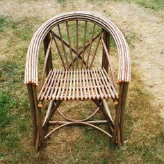 Boudoir2 : Designed and made by Spencer Jenkins using willow, part of the Rustic Range.
