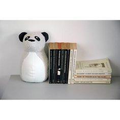 Deurstop / Boekensteun 'Rocky Panda'