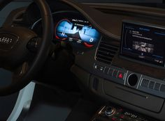 Audi OLED Lighting Concept 2013
