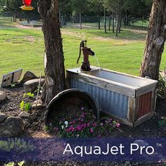 Shop a selection of Solar Water Fountain Pump with Battery Backup AquaJet Pro Kit at Silicon Solar . We offer FAQs and 20 years of renewable energy experience. Water Fountain Pumps, Water Fountains, Garden Fountains, Ponds Backyard, Backyard Landscaping, Rustic Gardens, Outdoor Gardens, Old Water Pumps, Solar Water