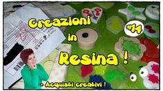 Guardiamo le nuove creazioni in Resina! #11 SOLO con GLITTER + Acquisti ...