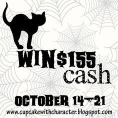 Cupcake With Character: Instagram & Pinterest CASH Giveaway! click the lilnk to enter :-)