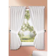Blickdichte Gardinen, Sichtschutz, Landhaus, Haushalt, Wohnzimmer, Wohnen,  Deko