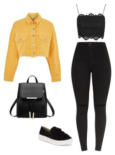 """Untitled #173"" by abigail-luna on Polyvore featuring beauty, Topshop and Seychelles"
