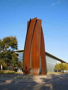 Vortex by Richard Serra, Modern Art Museum of Fort Worth, Texas Richard Serra, Steel Sculpture, Bronze Sculpture, Museum Of Modern Art, Art Museum, Abstract Sculpture, Sculpture Art, Industrial Sculptures, Metal Sculptures