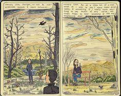 Moleskine Diary, copyright Nicky Nargesian