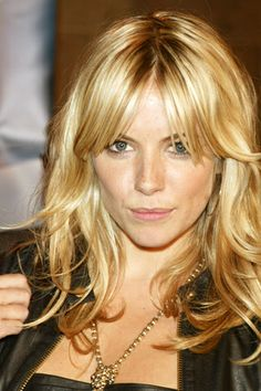 Sienna Miller with Bardot bangs