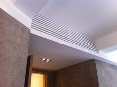 Lieblingsg - concealment of normal aircon blower unit. mount at somewhere inconspicuous and then conceal with a grille.