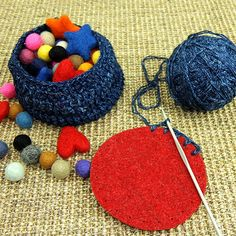 Felt Patch 4 Circle with Punch Holes by JoesToes on Etsy