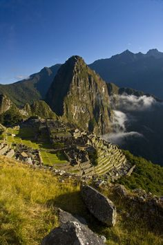 Machu Picchu, Peru. Been there! Most magical place on earth.