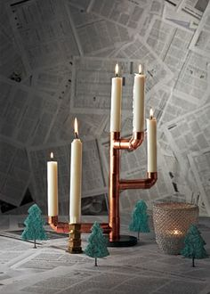 copper pipe - diy-christmas-decorations