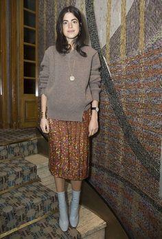 leandra medine over sweater street style