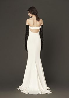 Black | White | Vera Wang Dress