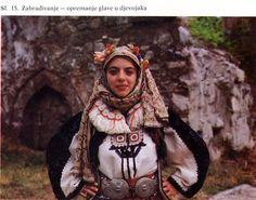 Married Woman's Costume of Skopska Crna Gora, Macedonia