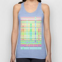 Re-Created Urban Landscape XIV Unisex Tank Top by Robert S. Lee - $22.00