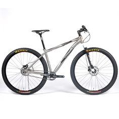 Pro29 SL - The Best 29er Hardtail Singlespeed Racing Mountain Bike Frame - Lynskey Performance - Titanium