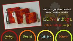 Gorgeous vintage fabrics, QLD business.