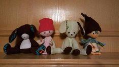 Memory bear/rabbit/puppy/penguin/snake stuffed by EVInspirations