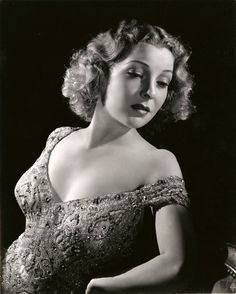 Helen Vinson 1940, photo by George Hurrell