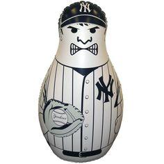New York Yankees 40'' Inflatable Baseball Buddy Punching Bag - $19.99