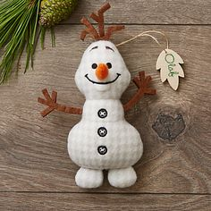 Olaf Disney Parks Storybook Plush Ornament                                                                                                                                                                                 More