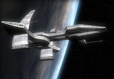 Asgard ship from stargate
